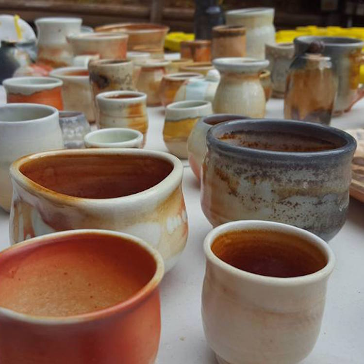 Brochu Ceramics at Rural Craft Revival Holiday Market, an event by Union Event Co