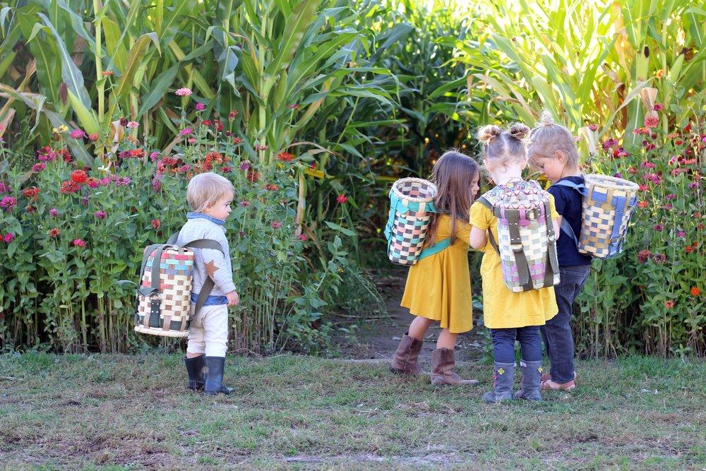 Little Hiker Packs at Rural Craft Revival