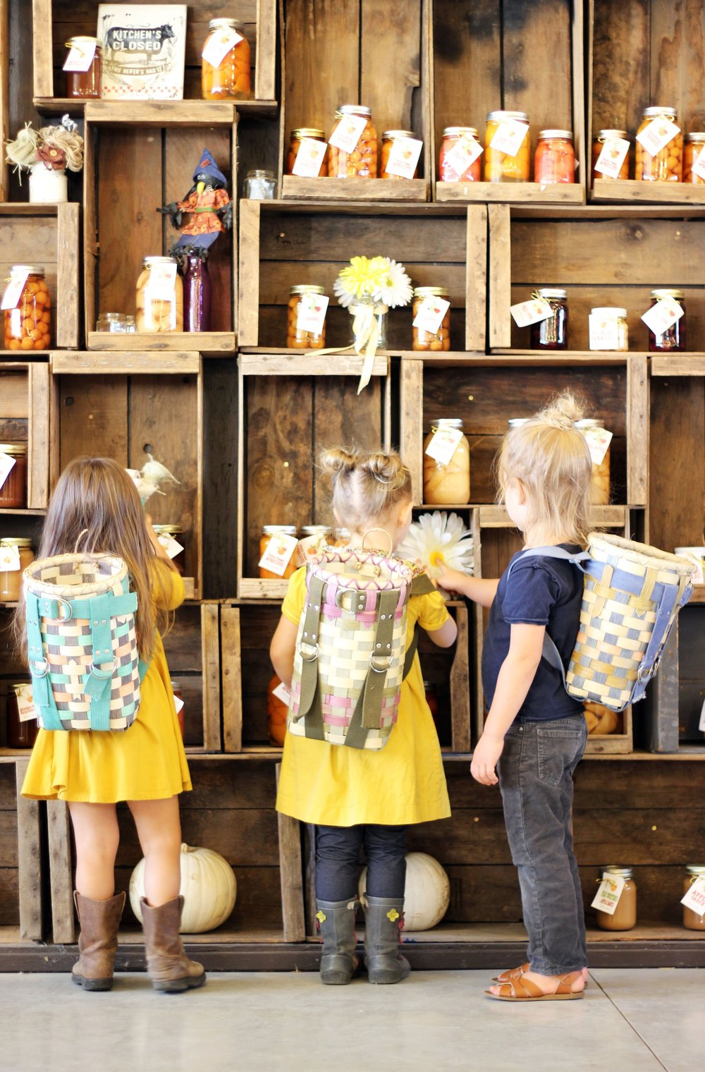 Little Hiker Packs at Rural Craft Revival