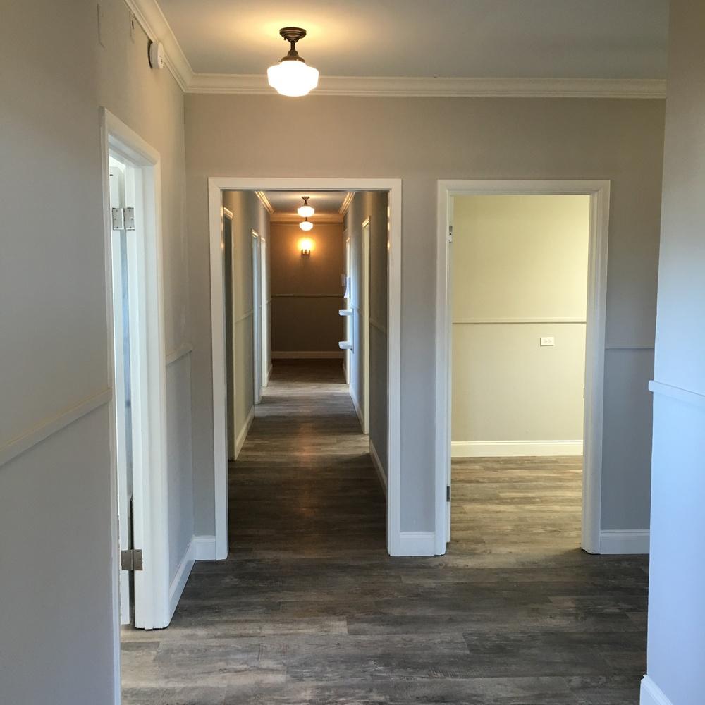 Cove hallway