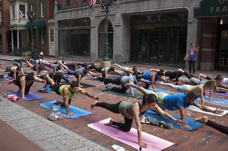 Yoga on Pratt Street