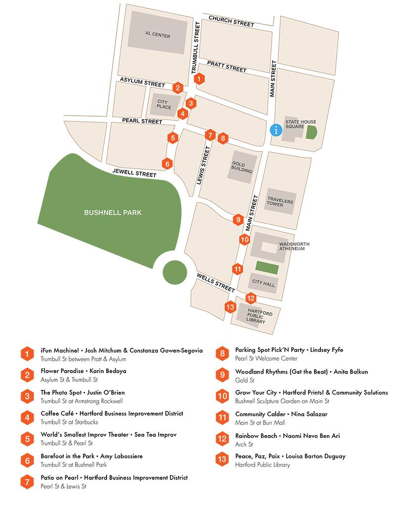 Parking Spots Map, 2015