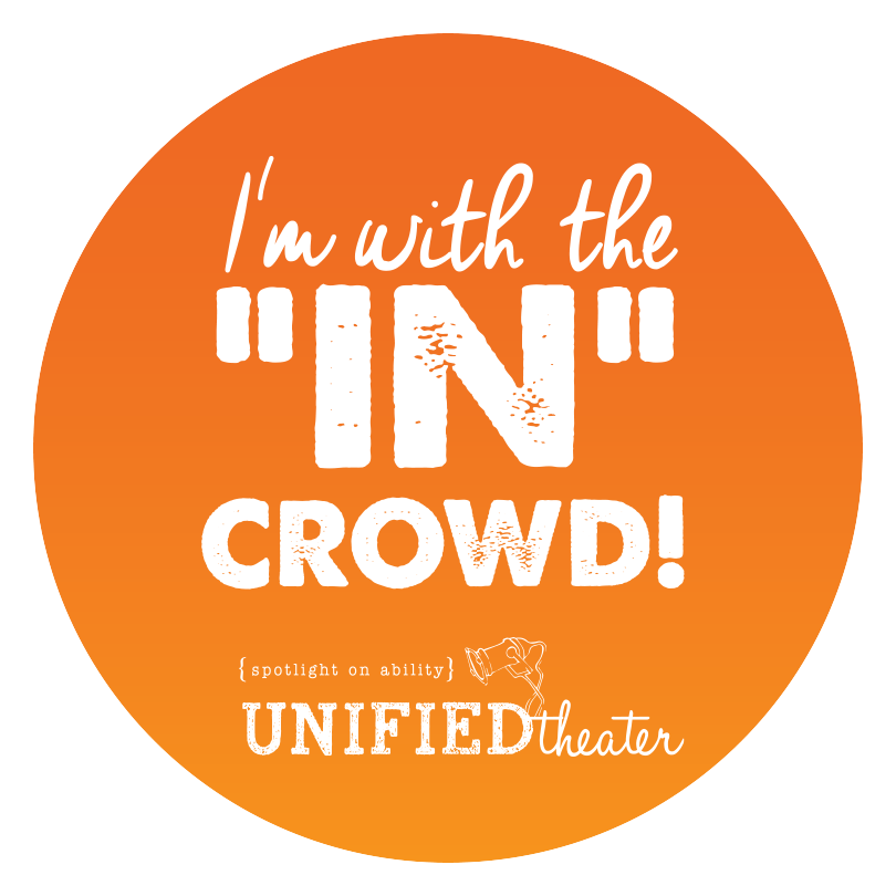 """In"" Crowd Sticker"