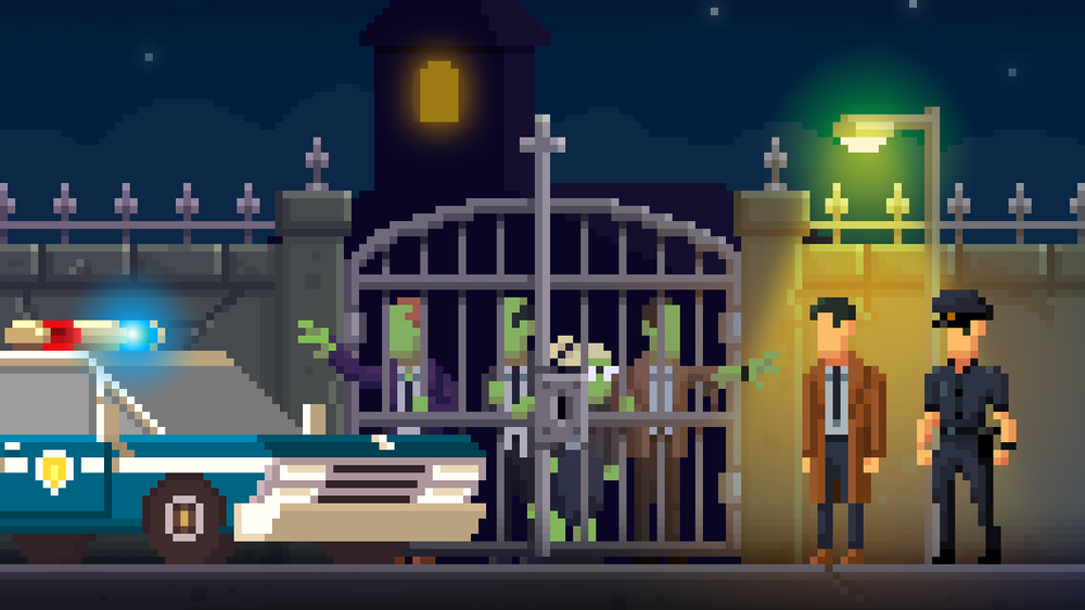 The Darkside Detective (Spooky Doorway) - Release campaign