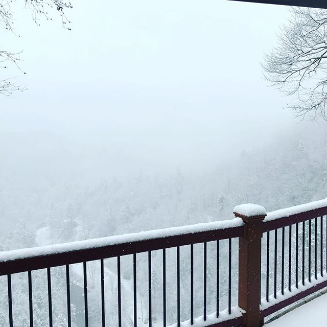 It's here! The first accumulating snowfall of the season!! ❄️