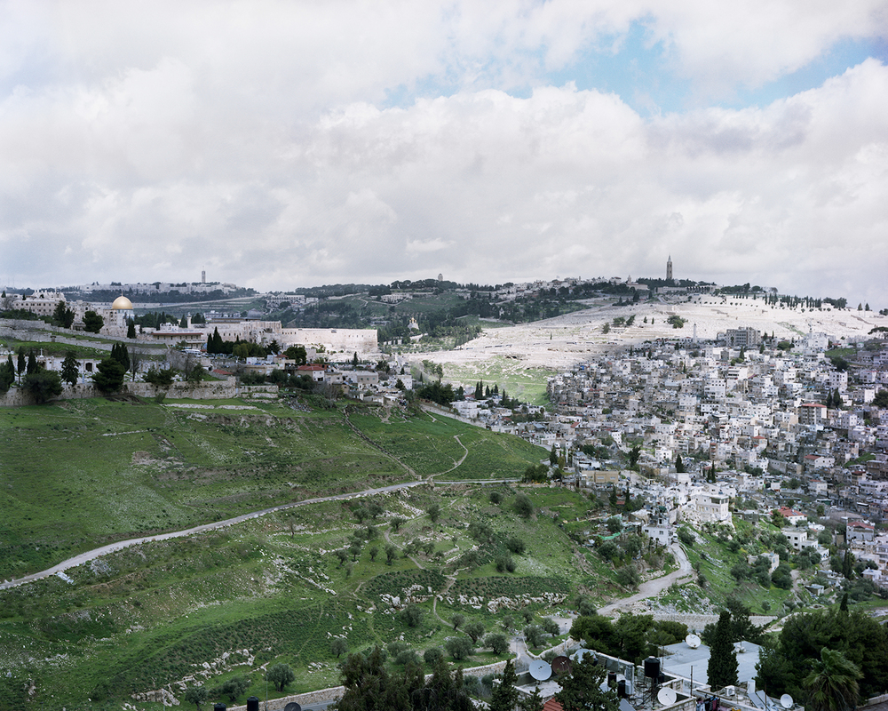 View From Our Jerusalem Home in Winter, 2011