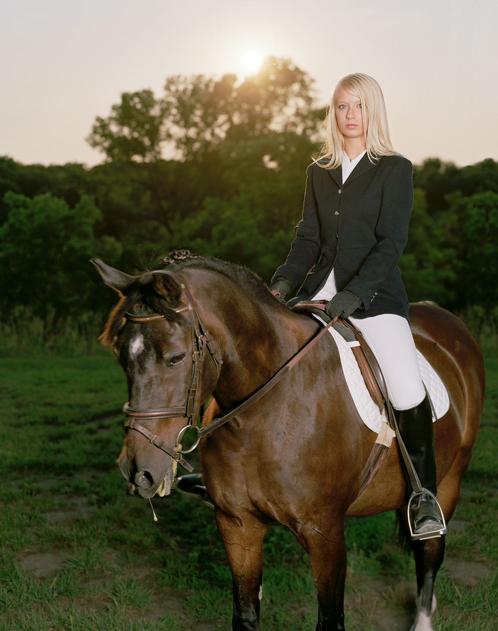 Untitled (Ashley on Horse)