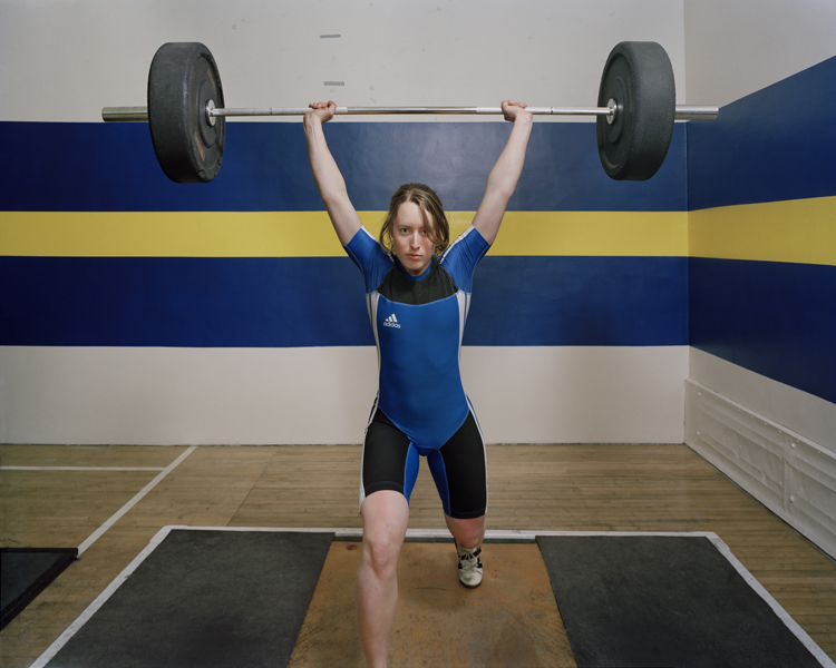 Untitled (Kristi, Olympic Weightlifter)