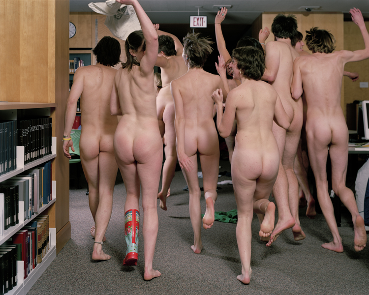 Untitled (Library Streakers)