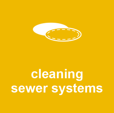 cleaning sewer systems