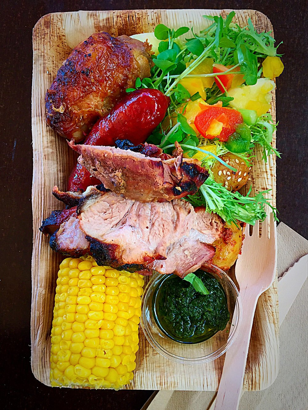 Photo Credit:  Anna Bryant   Brazilian BBQ from Brasa in Copenhagen