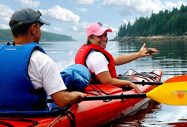 Maine State Kayak Tours, Mount Desert Island, Maine