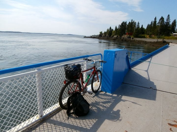 Bike on Ferry