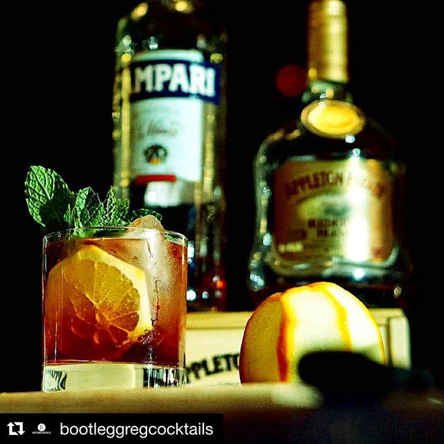 """Friday Night Vibes! #Repost @bootleggregcocktails ・・・ Hater """"what you do for a living""""? @bootleggregcocktails """"I put the holes in the donuts"""" #anchorspa #theanchorspa #cocktails #cocktailporn #newhaven #nhv #campari #tgif #Friday #sexy #style #fresh"""