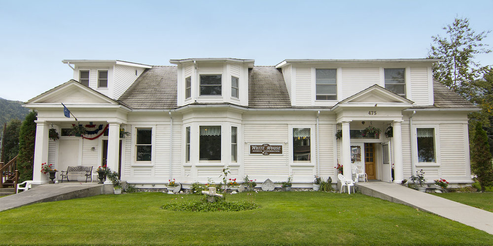 The White House bed and breakfast is an historic Skagway residence from 1902.