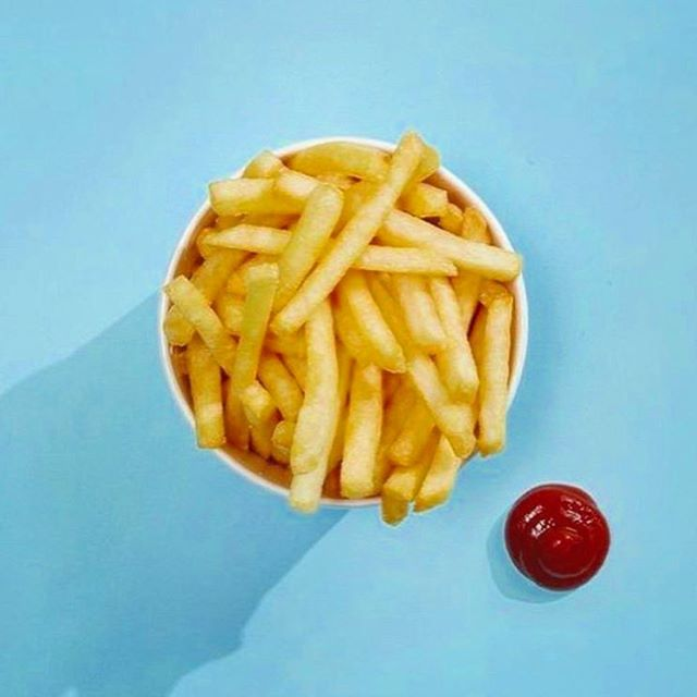 Exercise? Oh.. We thought you said EXTRA FRIES! Happy #NationalFrenchFryDay all 🍟💕 • • Photo via @eatbychloe