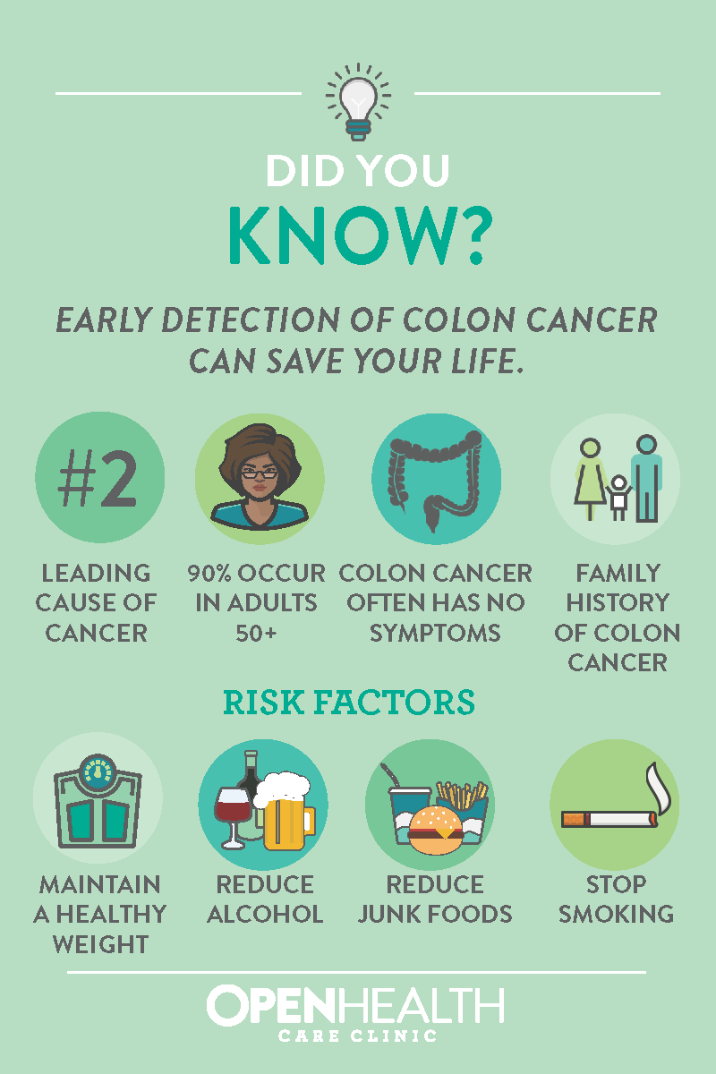 Colon Cancer Awareness Open Health Care Clinic
