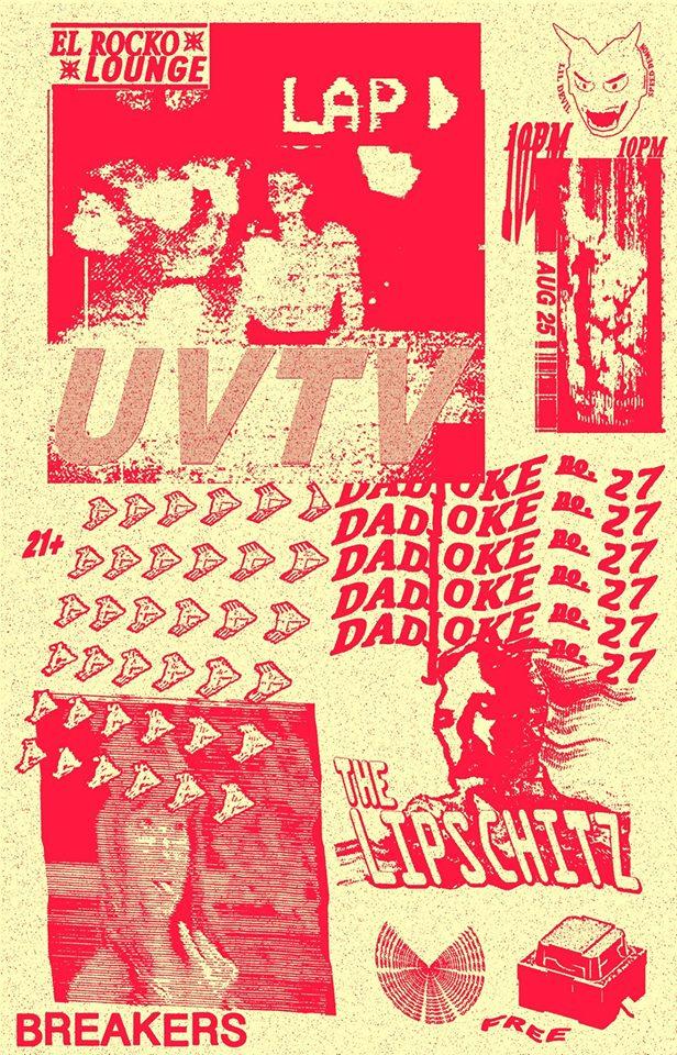 Savannah, GA 8/25/16 @El Rocko Lounge - Flyer by @90s_calves