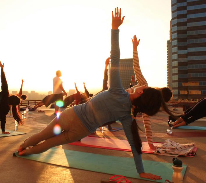 L.A.'s Yoga Dress Code / L.A. TImes