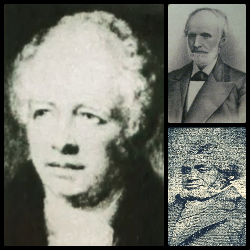Germanicus Kent (Left), Thatcher Blake (Upper Right), Lewis Lemon (Bottom Right)