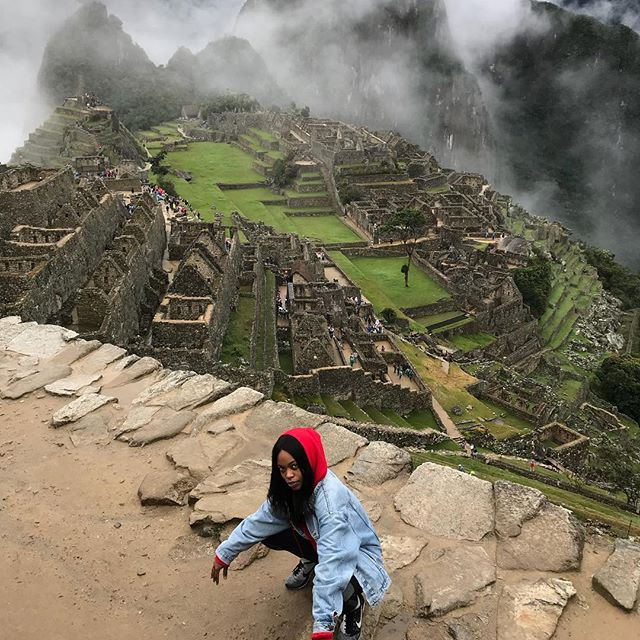 I brag different   conquered one of the 7th wonders of the world