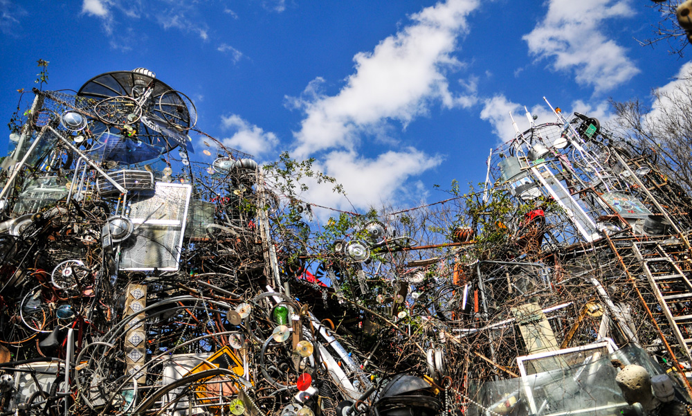The infamous Cathedral of Junk