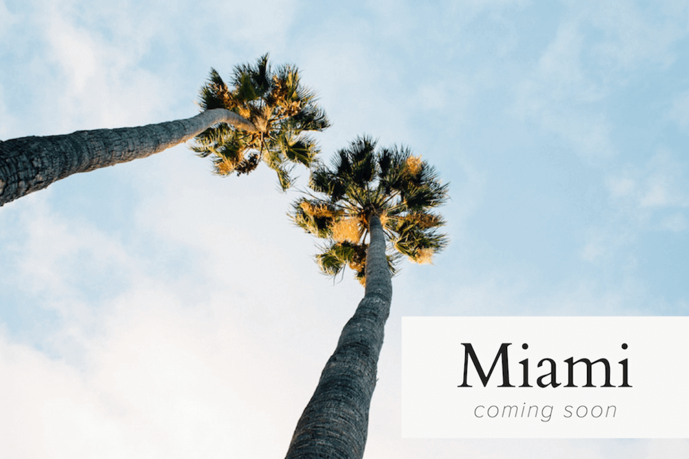 The Guild Locations in Miami - Coming Soon