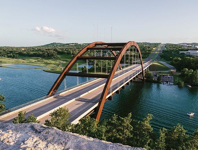 All this rain has brought about cooler weather which means hiking season here in Austin! Have you hiked the #pennybackerbridge Overlook trail? We highly recommend!