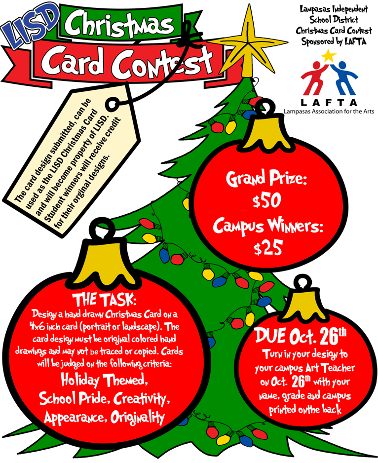 christmas card contest lampasas radio