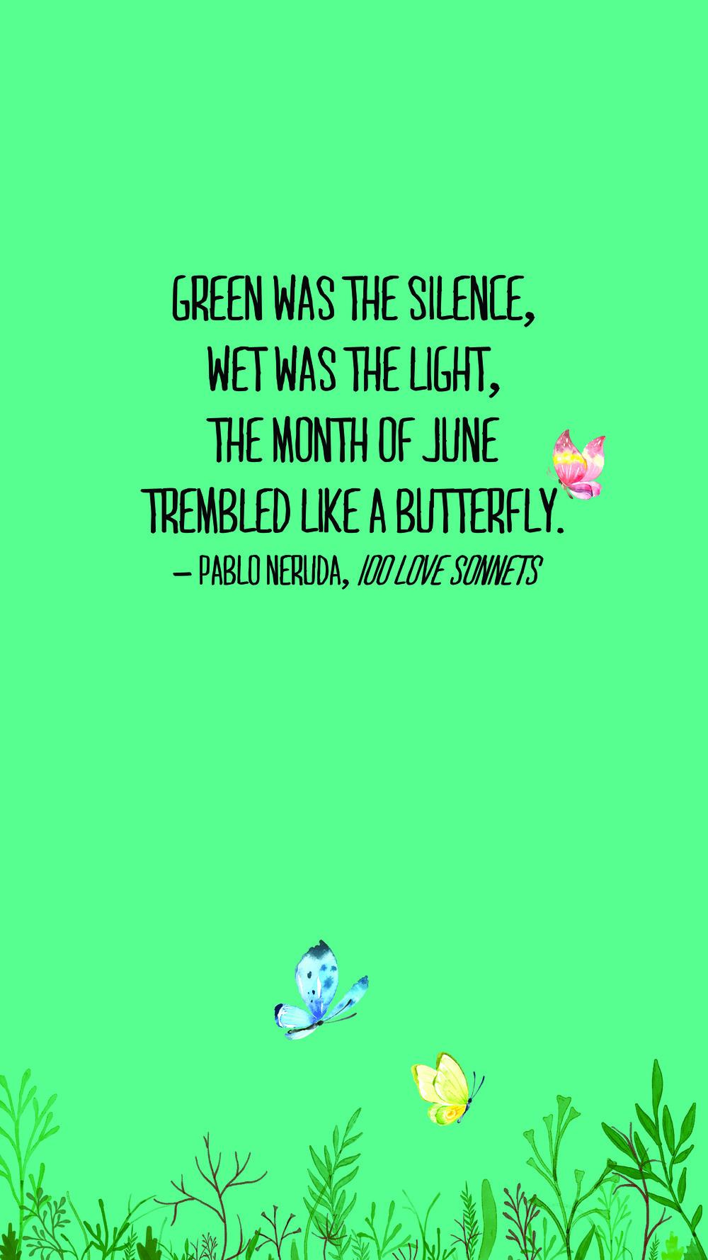 June 2016 Quote Wallpaper - Phone