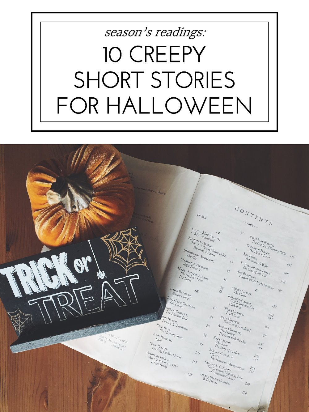 10 Creepy Short Stories to Read This Halloween