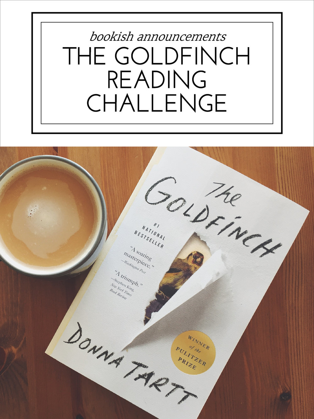Blessed Bookworm The Goldfinch Reading Challenge