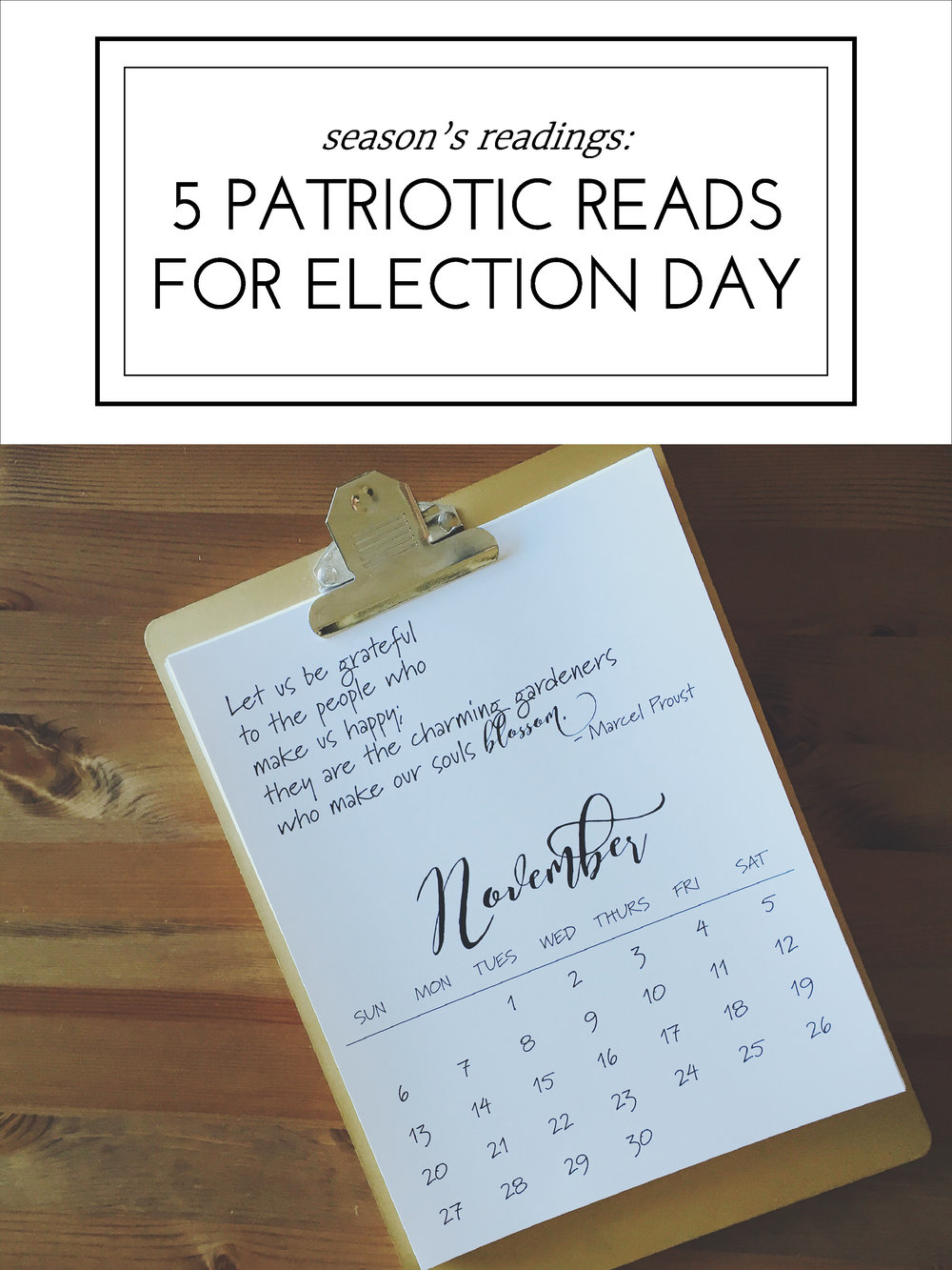 5 Patriotic Reads for Election Day