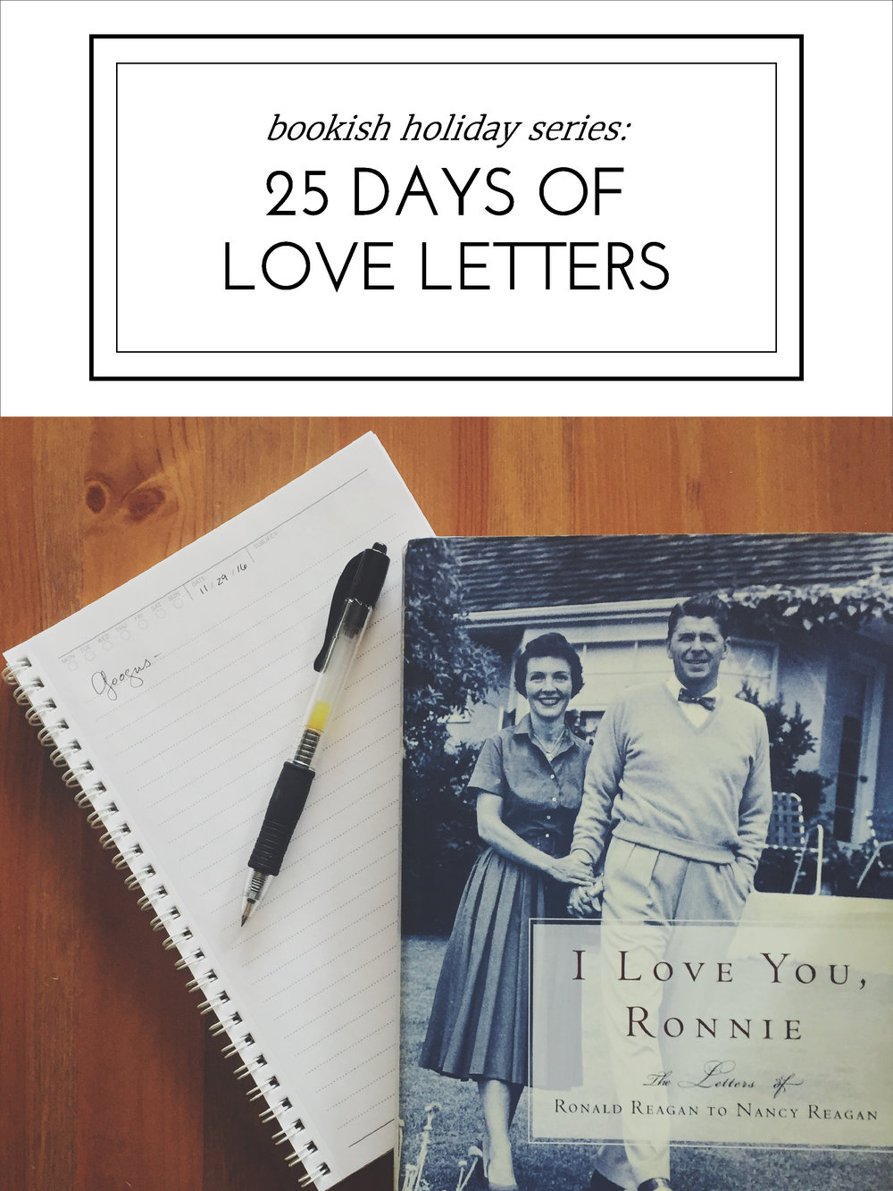 Handmade Christmas: 25 Days of Love Letters
