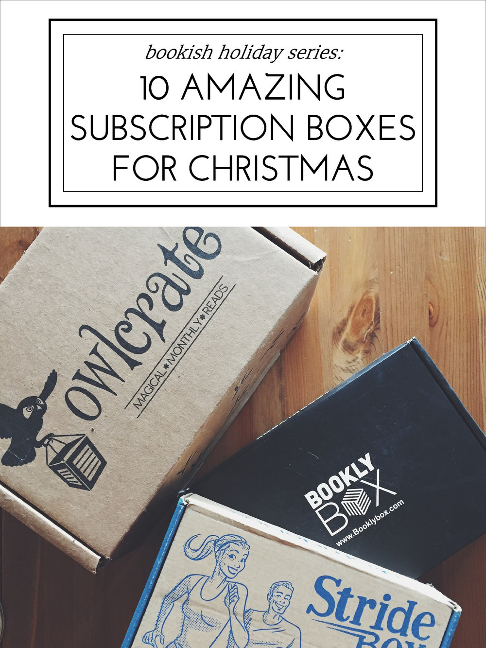 10 Amazing Subscription Boxes for Christmas