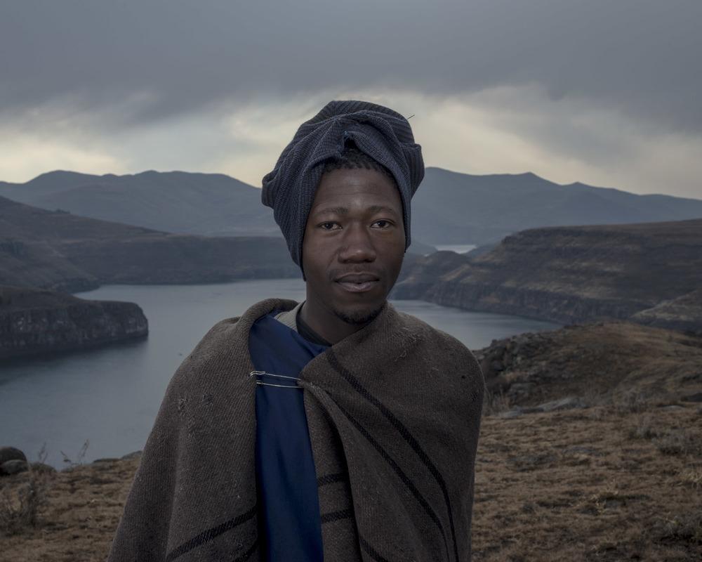 Lineo Sehole, Katse Dam, Lesotho, 2015