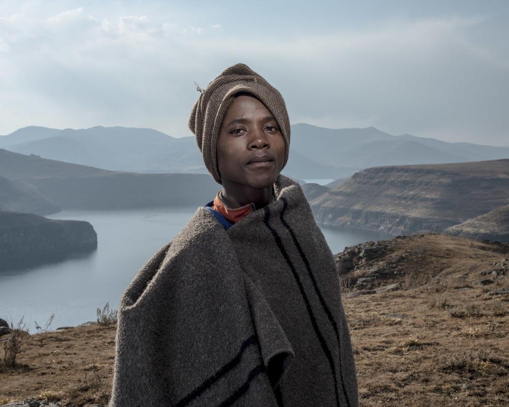 Tebogo Sehole, Katse Dam, Lesotho, 2015