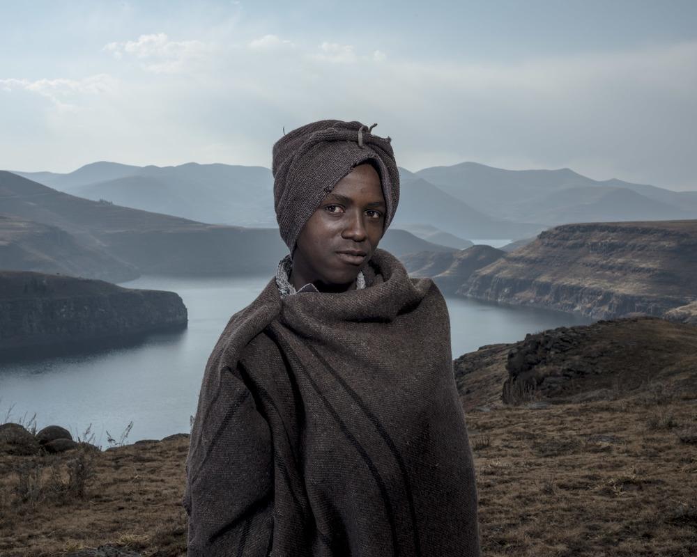 Molefe Tsase, Katse Dam, Lesotho, 2015