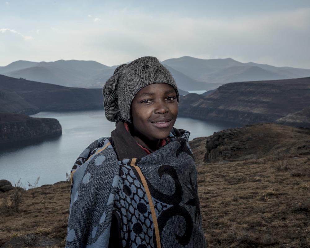 Tankiso Tseko, Katse Dam, Lesotho, 2015