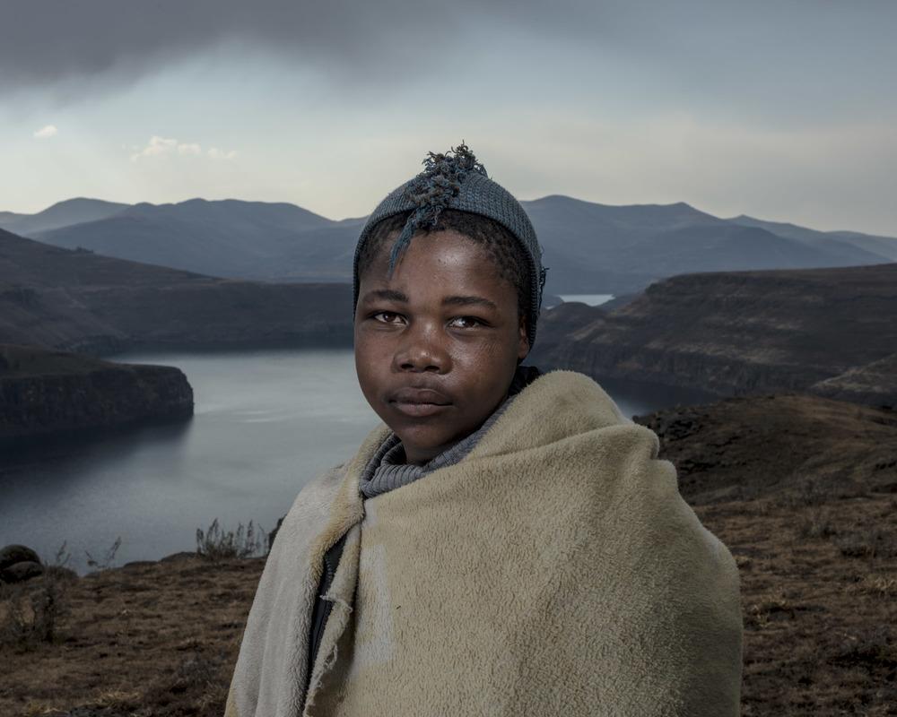 Ramokola Kotsoane, Katse Dam, Lesotho, 2015