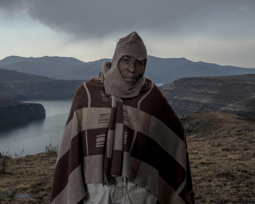 Motleheloa Molise, Katse Dam, Lesotho, 2015