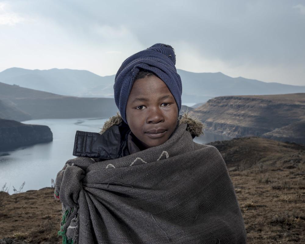 Thabiso Makhanya, Katse Dam, Lesotho, 2015