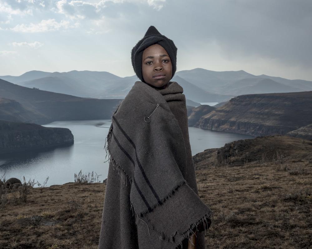 Monyana Chopho, Katse Dam, Lesotho, 2015