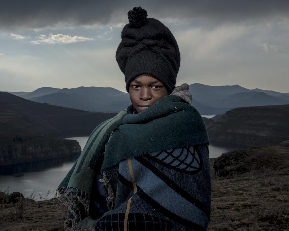 Tanki Mphongoa, Katse Dam, Lesotho, 2015