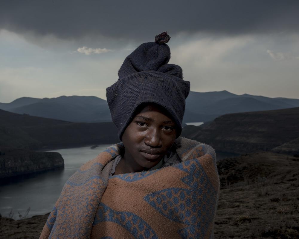 Quobelane Chopho, Katse Dam, Lesotho, 2015