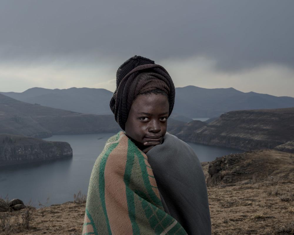 Khothatso Lesofe, Katse Dam, Lesotho, 2015