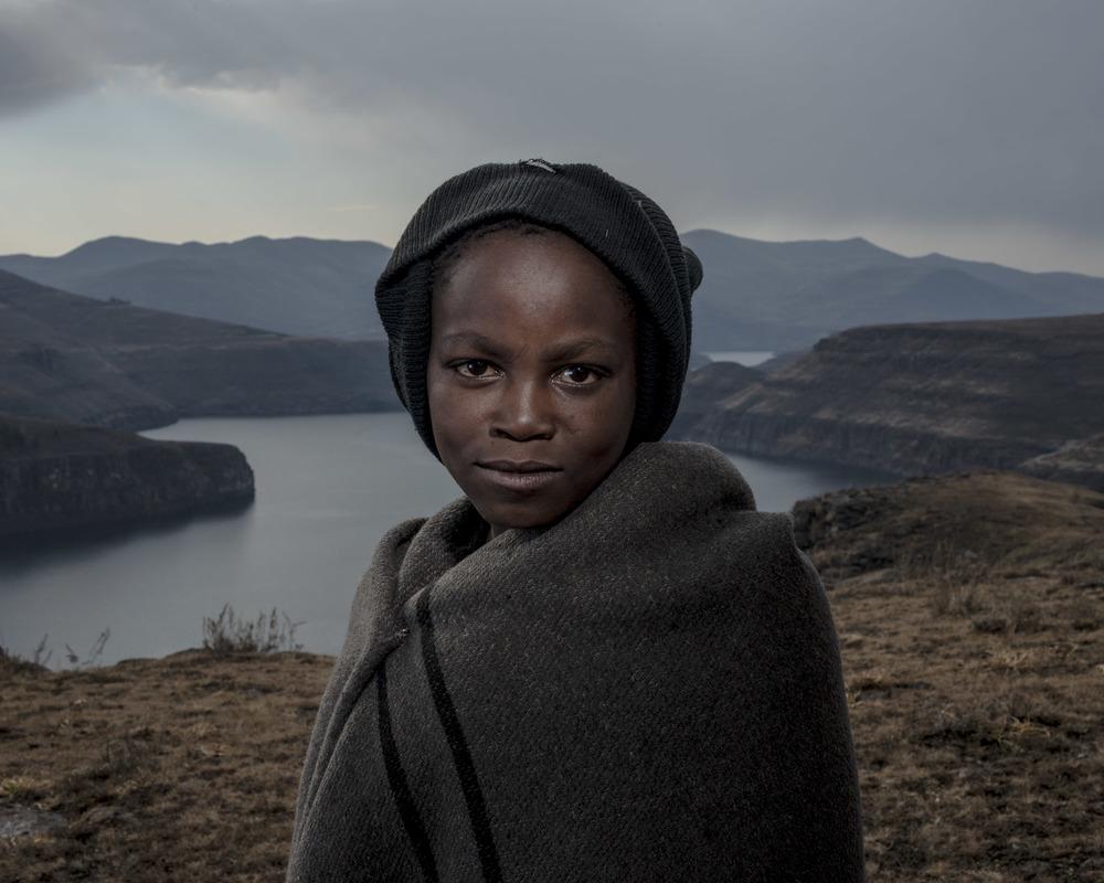 Tumelo Lesofe, Katse Dam, Lesotho, 2015