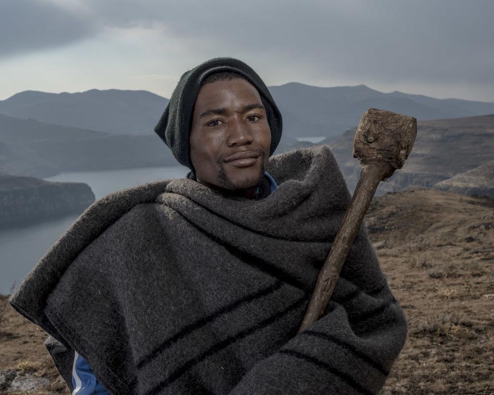 Phakiso Tsase, Katse Dam, Lesotho, 2015
