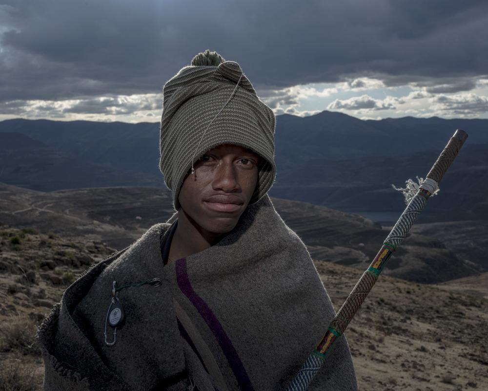 Khakhametsane Malimole, Katse Dam, Lesotho, 2015