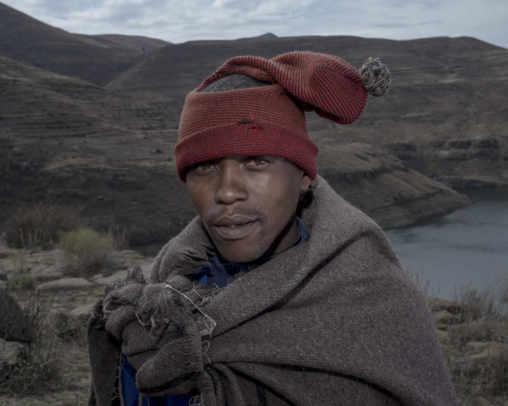 Potsane Kou, Katse Dam, Lesotho, 2015
